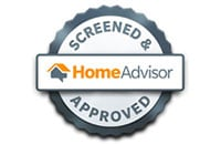 Screened and approved by HomeAdvisor.